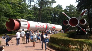 JAXAロケット縮小版